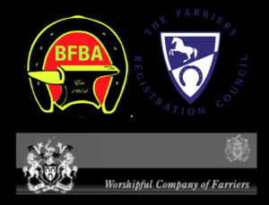 BFBA, Farrier Registration Council and Worship Company of Farriers Accreditation